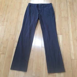 Eddie Bauer Mercer Fit gray stretchy straight pant